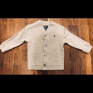 Ralph Lauren Toddler Boy's Sweater Cardigan